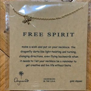 Firefly gold chain